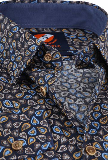 Suitable Overhemd Willem Leafs Karamel