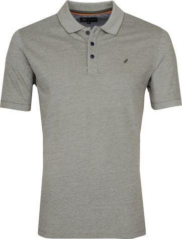 Suitable Oxford Polo Groen