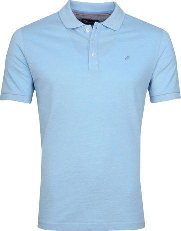 Suitable Oxford Poloshirt Blue