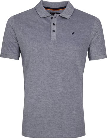 Suitable Oxord Poloshirt Dunkelblau