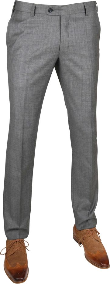 Suitable Pantalon Evans Dunkel Grau