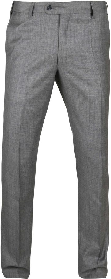 Suitable Pantalon Evans Dunkel Grau
