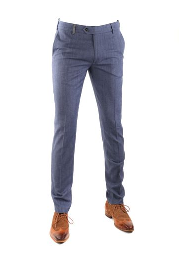 Suitable Pantalon Milano Blauw