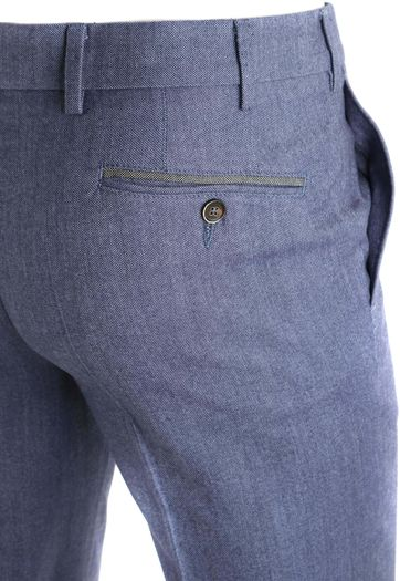 Detail Suitable Pantalon Milano Blauw