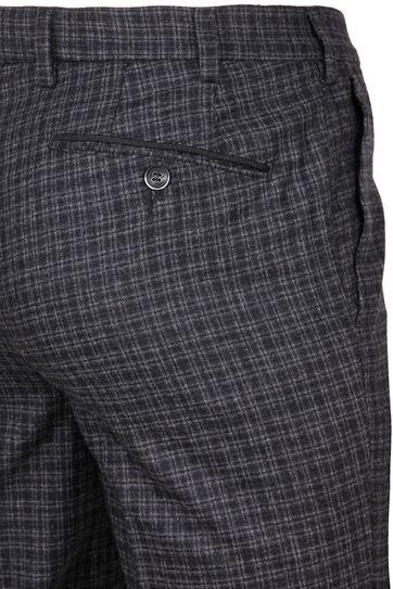 Suitable Pantalon Milano Karo Anthrazit