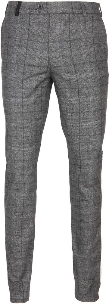 Suitable Pantalon Milano Pane Grey