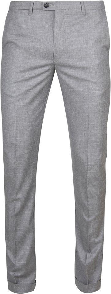 Suitable Pantalon Pisa Melange Grau