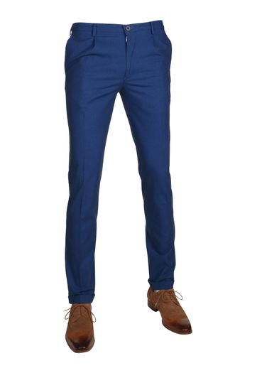 Suitable Pantalon Rimini Blauw