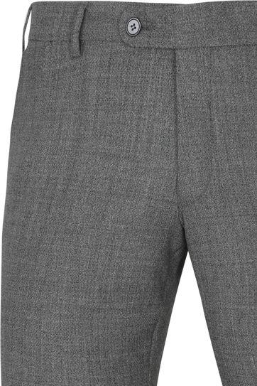 Suitable Pantalon Schurmann Antraciet