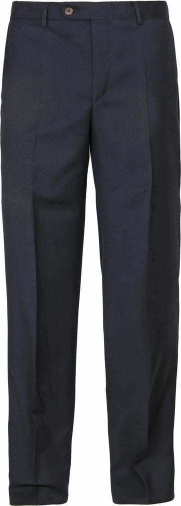 Suitable Pantalon Viga Donkerblauw