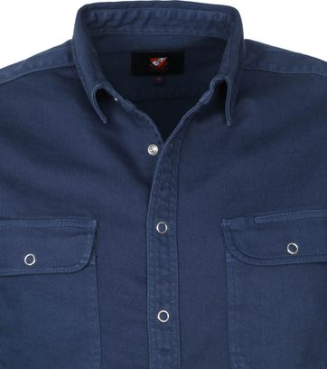 Suitable Pascal Overshirt Donkerblauw