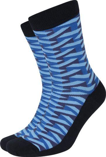Suitable Pattern Socken 3D Navy