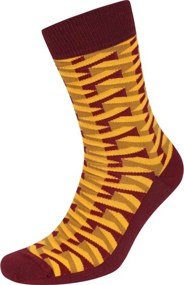 Suitable Pattern Socks 3D Yellow
