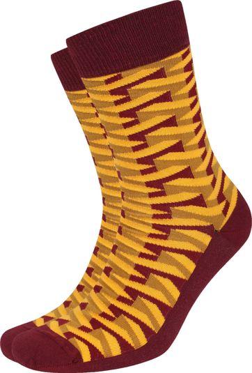 Suitable Pattern Sokken 3D Geel