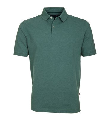Suitable Polo Basic Melange Groen