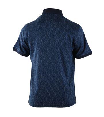 Detail Suitable Polo Blauwe Print