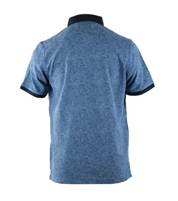 Detail Suitable Polo Blue Paisley