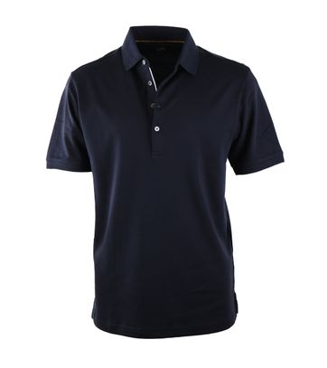 Suitable Polo Liquid Donkerblauw