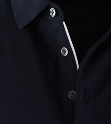 Detail Suitable Polo Liquid Donkerblauw