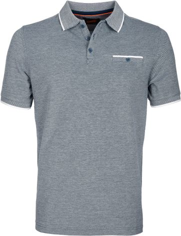 Suitable Polo Navy Oxford