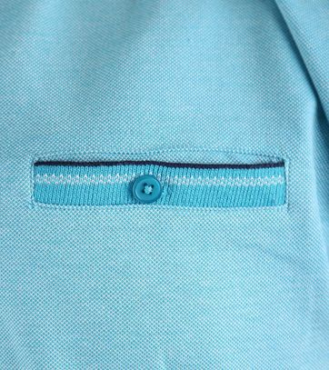 Detail Suitable Polo Oxford Aqua
