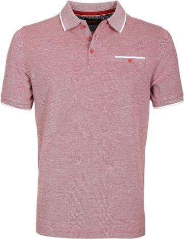 Suitable Polo Oxford Bordeaux