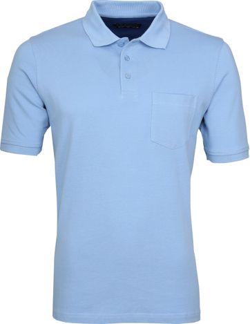 Suitable Polo Shirt Boston Light Blue