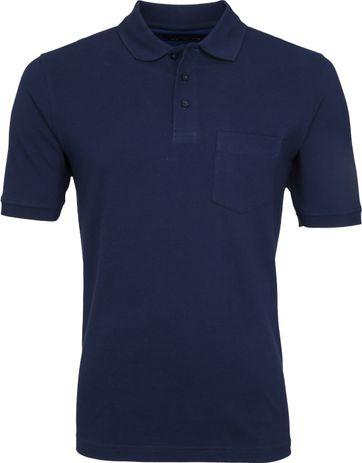 Suitable Polo Shirt Boston Navy