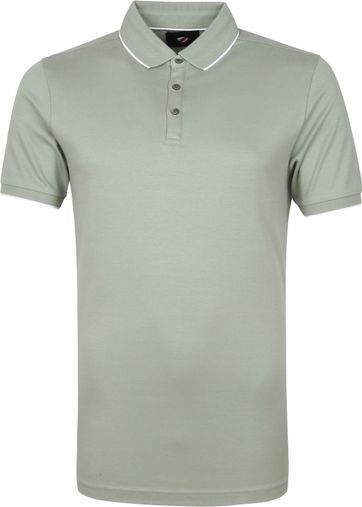 Suitable Polo Shirt Liquid Green