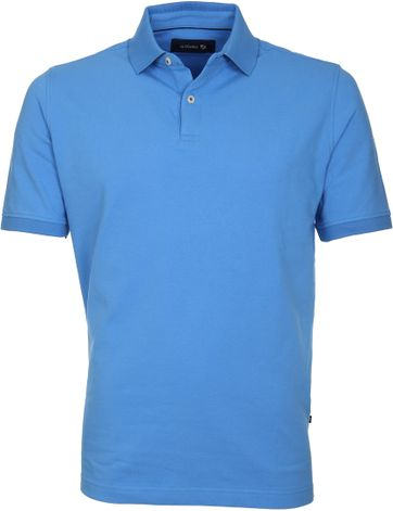 Suitable Poloshirt Basic Blau