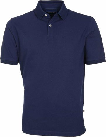 Suitable Poloshirt Basic Dunkelblau