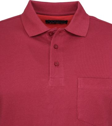 Suitable Poloshirt Boston Bordeaux