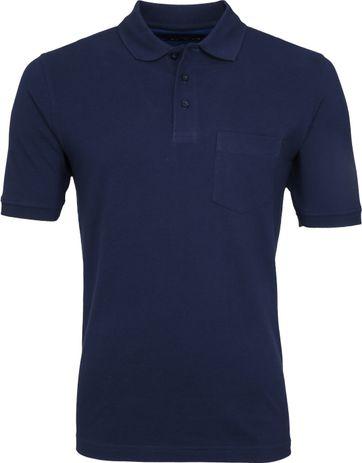 Suitable Poloshirt Boston Dunkelblau