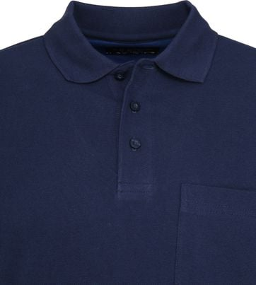 Suitable Poloshirt Boston Navy