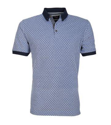 Suitable Poloshirt Bric Blue