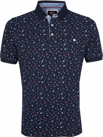 Suitable Poloshirt Circle Navy