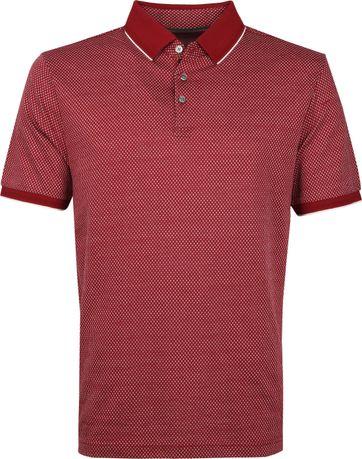 Suitable Poloshirt Jacque Burgundy
