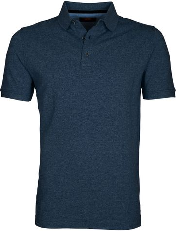 Suitable Poloshirt Jaspe Dunkelblau