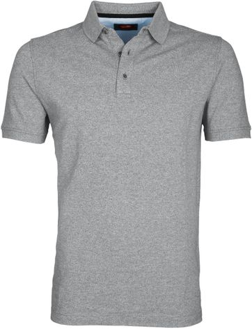 Suitable Poloshirt Jaspe Grey