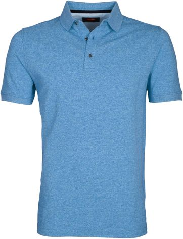 Suitable Poloshirt Jaspe Hellblau