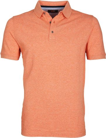 Suitable Poloshirt Jaspe Orange