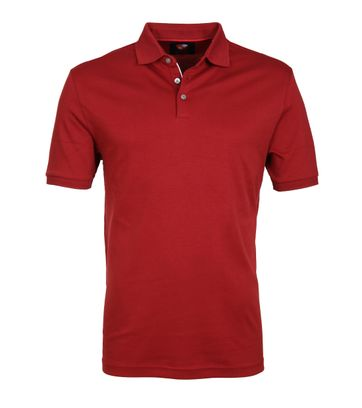Suitable Poloshirt Liquid Bordeaux