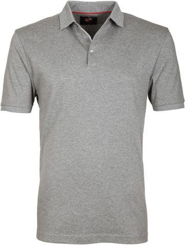 Suitable Poloshirt Liquid Grau