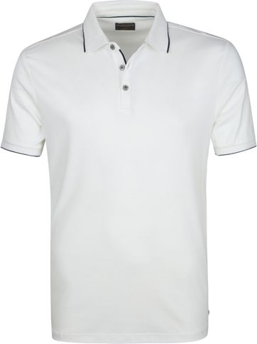 Suitable Poloshirt Liquid Jersey Weiß
