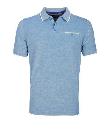 Suitable Poloshirt Oxford Blue