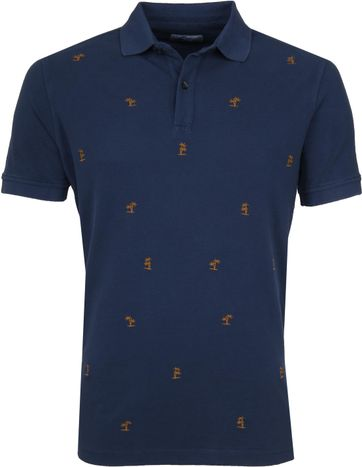 Suitable Poloshirt Palmen