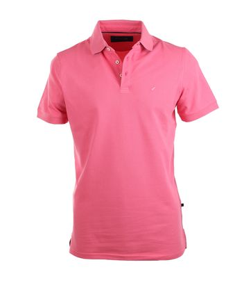 Suitable Poloshirt Stretch Fuchsia