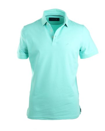 Suitable Poloshirt Stretch Mint Grün