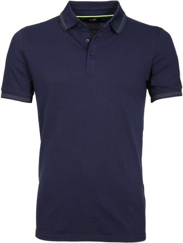 Suitable Poloshirt Typing Stretch Navy