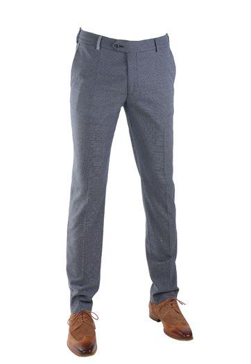 Suitable Premium Pantalon Donkerblauw Dessin